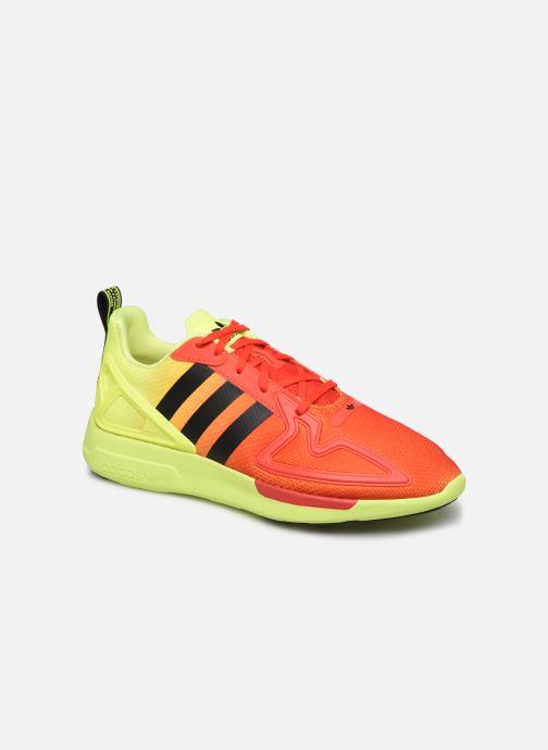Deportivas adidas originals Zx Fuse Adiprene X Naranja vista de detalle / par