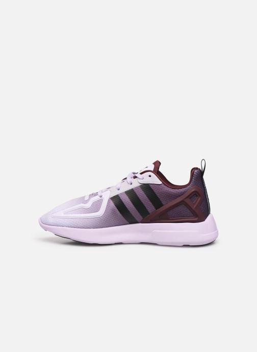 Sneakers adidas originals Zx Fuse Adiprene X W Paars voorkant