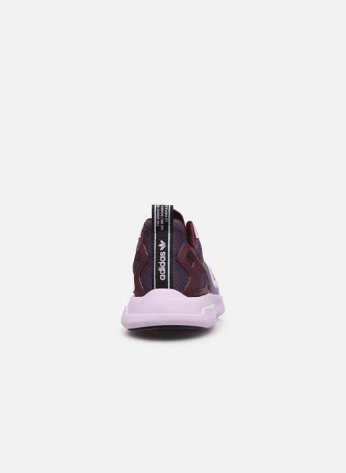 Deportivas adidas originals Zx Fuse Adiprene X W Violeta      vista lateral derecha