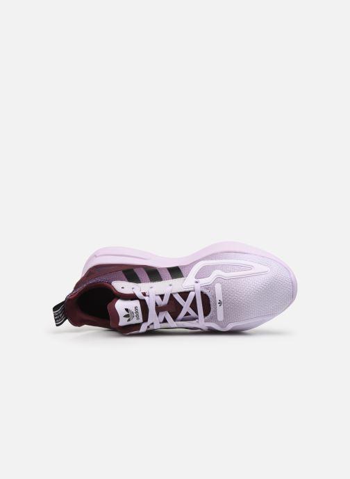 Deportivas adidas originals Zx Fuse Adiprene X W Violeta      vista lateral izquierda