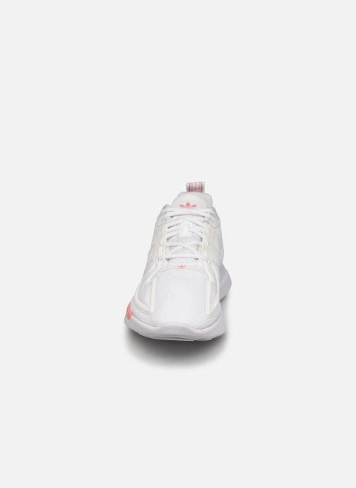 Sneaker adidas originals Zx Fuse Adiprene X W weiß schuhe getragen