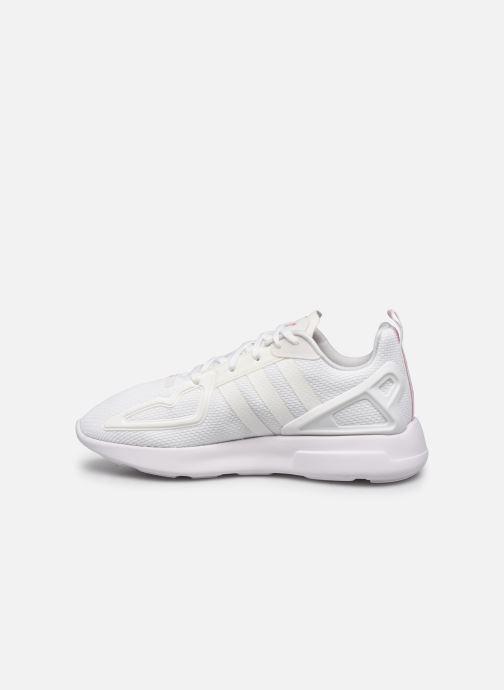 Sneakers adidas originals Zx Fuse Adiprene X W Wit voorkant