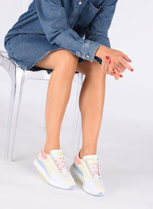 Deportivas adidas originals Sl Fashion W Blanco vista de abajo