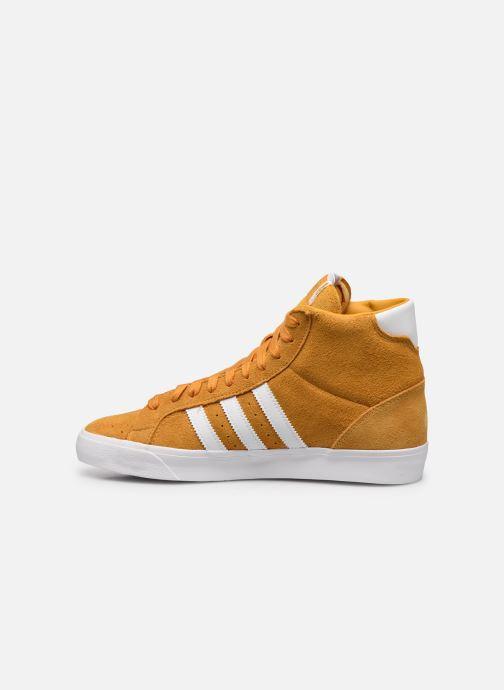 Sneakers adidas originals Basket Profi Geel voorkant