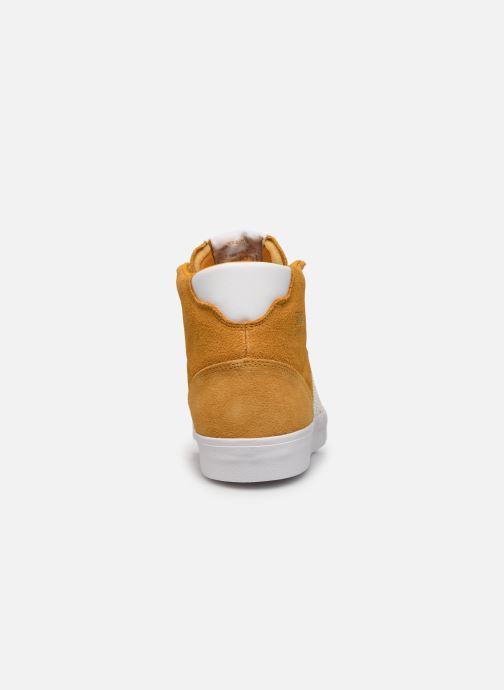 Sneakers adidas originals Basket Profi Geel rechts