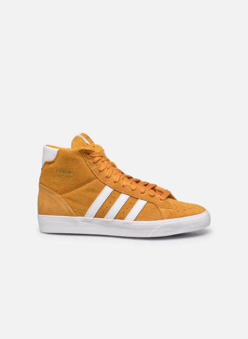 Sneakers adidas originals Basket Profi Geel achterkant
