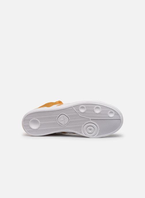 Sneakers adidas originals Basket Profi Geel boven