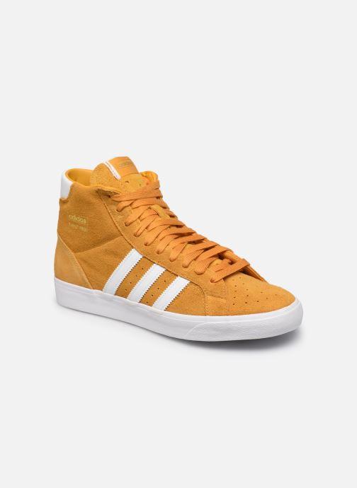Sneakers adidas originals Basket Profi Geel detail