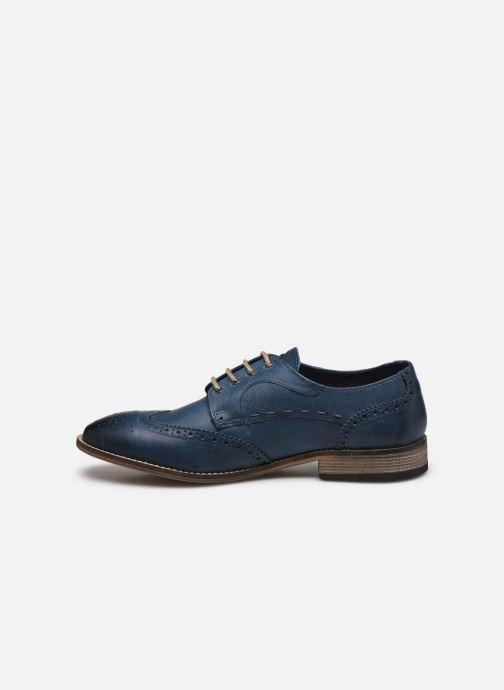Chaussures à lacets Base London KITCHIN Bleu vue face