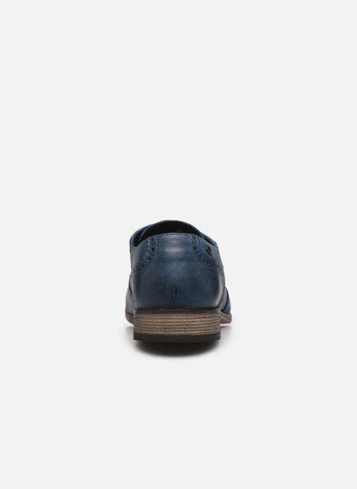 Chaussures à lacets Base London KITCHIN Bleu vue droite
