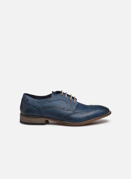 Chaussures à lacets Base London KITCHIN Bleu vue derrière