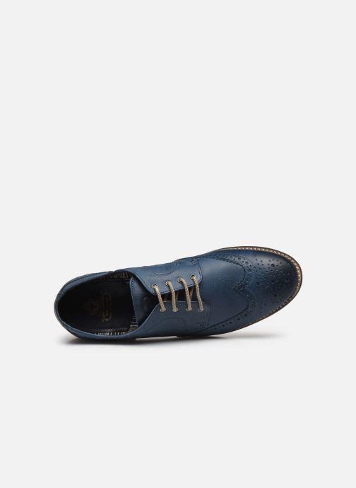 Chaussures à lacets Base London KITCHIN Bleu vue gauche