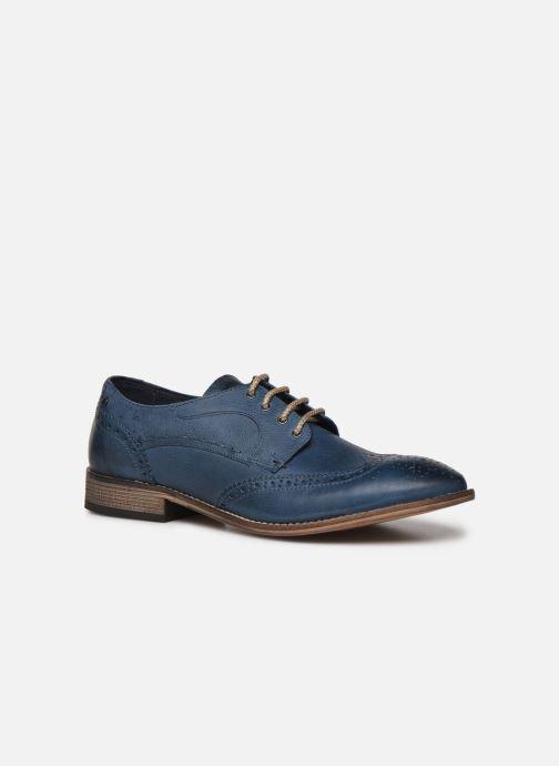 Chaussures à lacets Base London KITCHIN Bleu vue détail/paire
