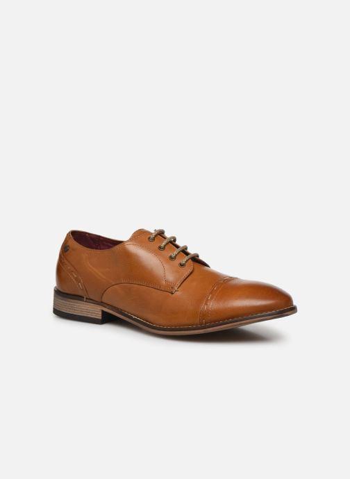 Zapatos con cordones Base London WARBY Marrón vista de detalle / par