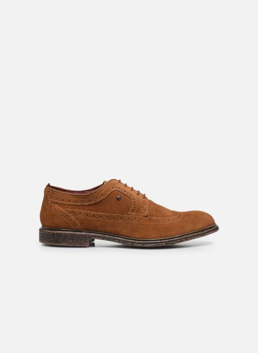 Zapatos con cordones Base London ONYX Marrón vistra trasera