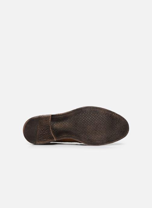 Chaussures à lacets Base London ONYX Marron vue haut