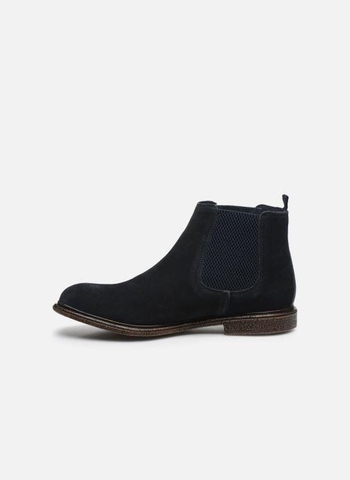 Bottines et boots Base London FLINT Bleu vue face