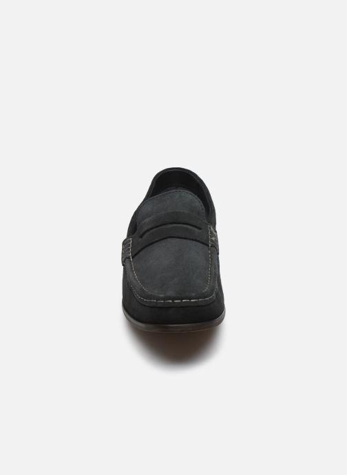 Mocassins Base London CASSIO Bleu vue portées chaussures