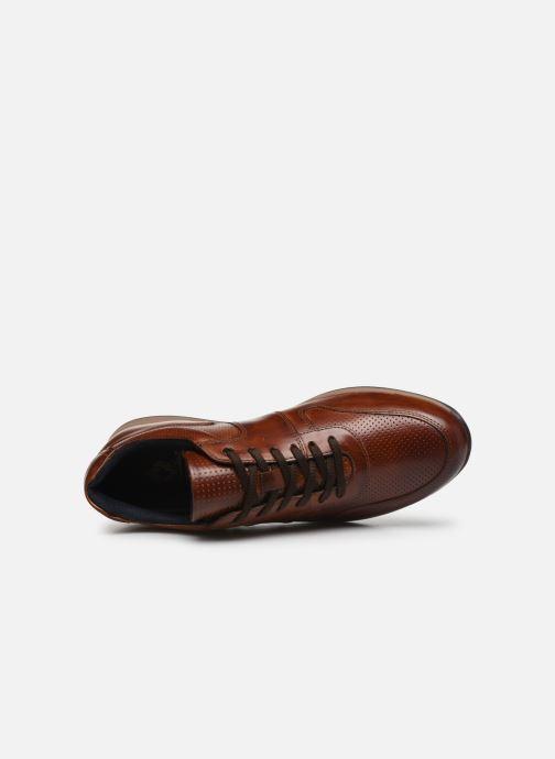 Sneakers Base London DAKOTA Marrone immagine sinistra