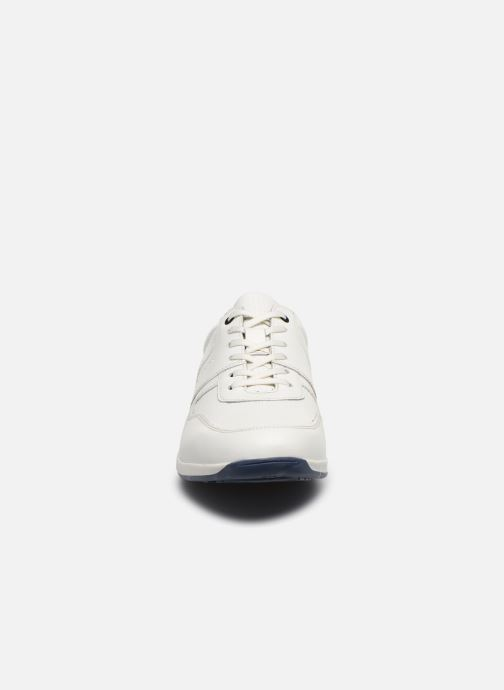 Sneakers Base London DAKOTA Bianco modello indossato