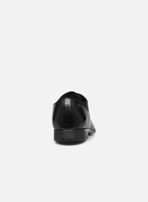 Chaussures à lacets Base London DANSEY Noir vue droite