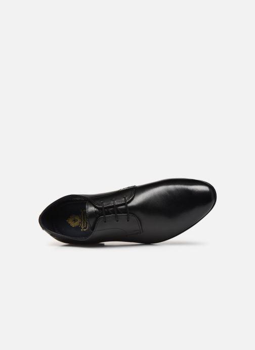 Chaussures à lacets Base London DANSEY Noir vue gauche