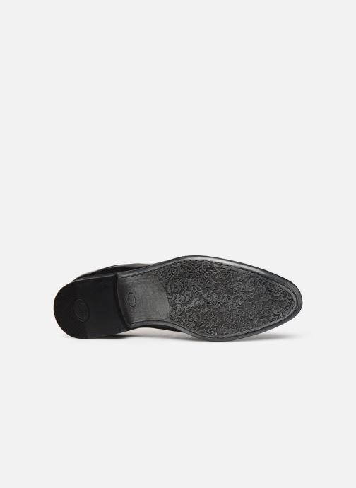 Chaussures à lacets Base London DANSEY Noir vue haut