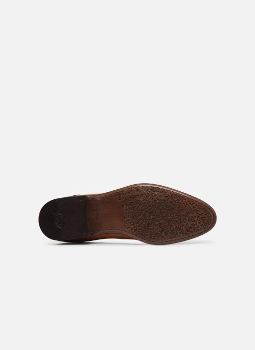 Chaussures à lacets Base London DANSEY Marron vue haut