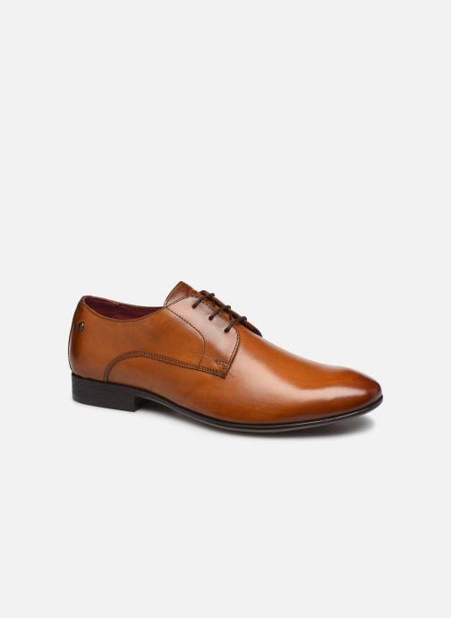 Zapatos con cordones Base London DANSEY Marrón vista de detalle / par