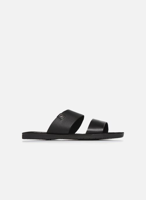 Sandales et nu-pieds Base London JULIUS Noir vue derrière