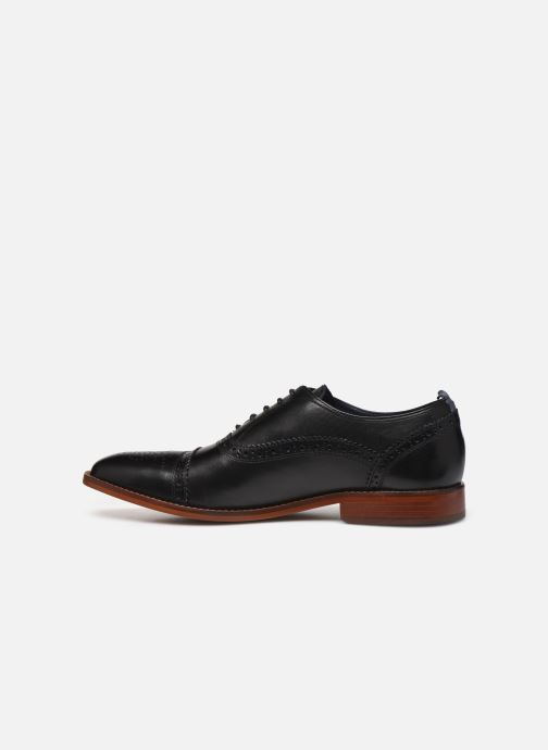 Chaussures à lacets Base London CAST Noir vue face