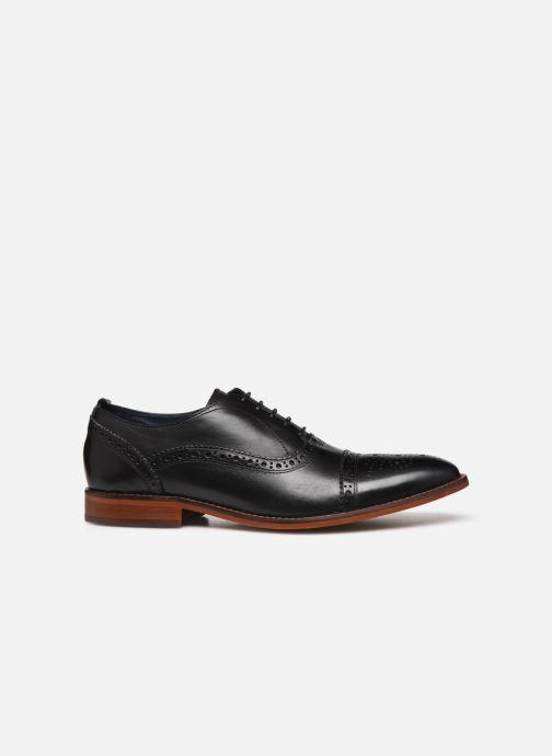 Chaussures à lacets Base London CAST Noir vue derrière