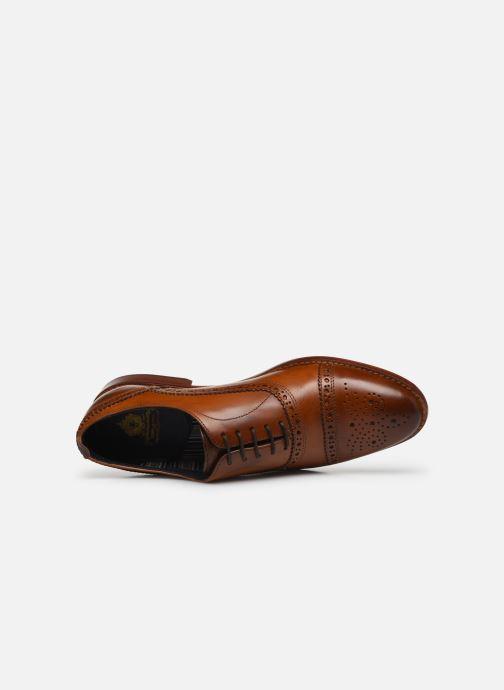 Zapatos con cordones Base London CAST Marrón vista lateral izquierda