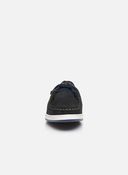 Chaussures à lacets Base London DOUGIE Bleu vue portées chaussures