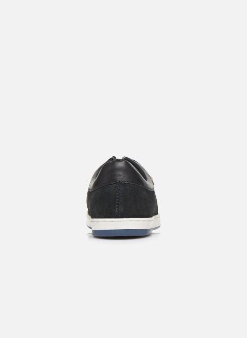 Chaussures à lacets Base London DOUGIE Bleu vue droite
