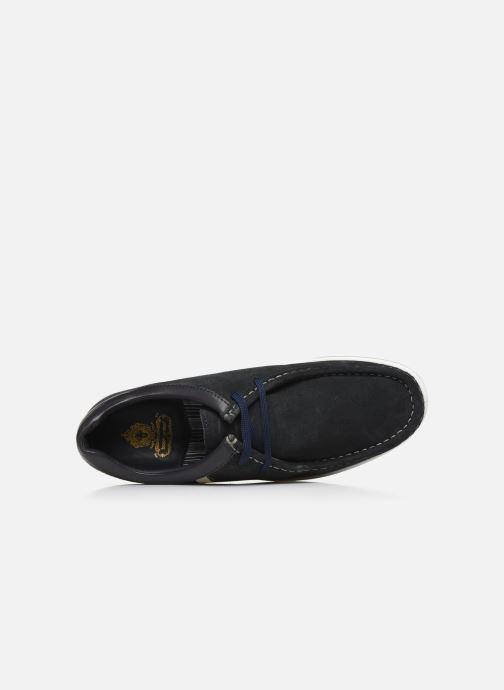 Chaussures à lacets Base London DOUGIE Bleu vue gauche