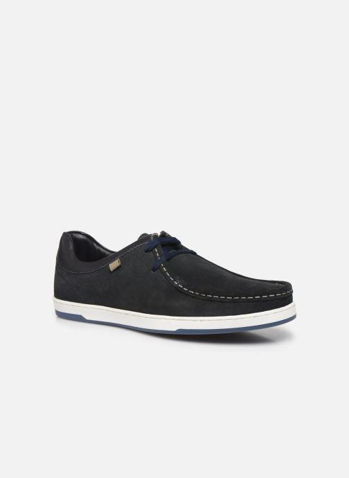 Chaussures à lacets Base London DOUGIE Bleu vue détail/paire