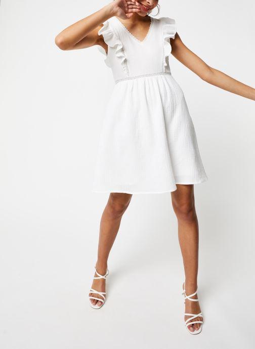 Vêtements Garance ROBE DANY Blanc vue bas / vue portée sac