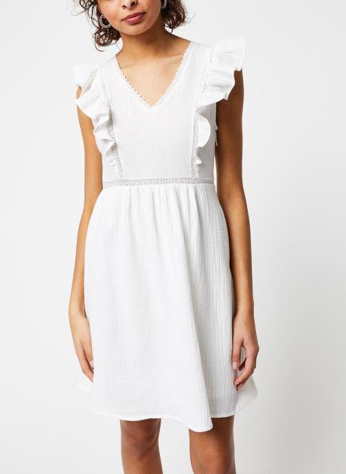 Vêtements Garance ROBE DANY Blanc vue droite