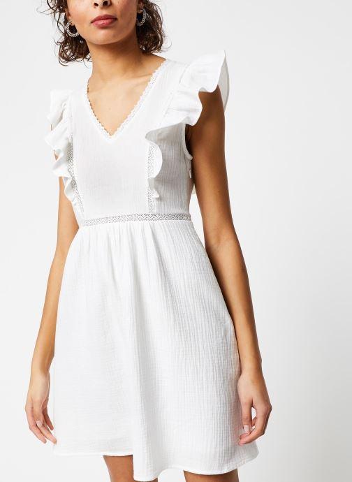 Vêtements Garance ROBE DANY Blanc vue détail/paire