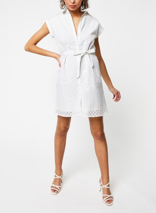 Vêtements Garance ROBE DACO Blanc vue bas / vue portée sac