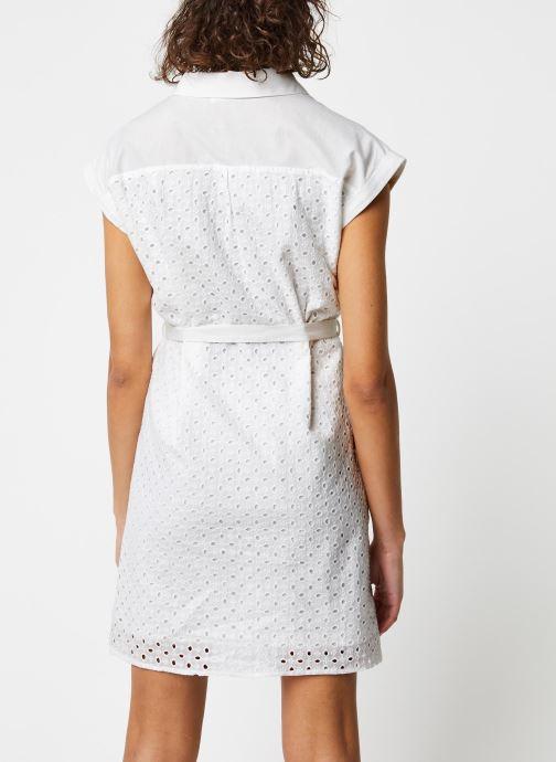 Vêtements Garance ROBE DACO Blanc vue portées chaussures