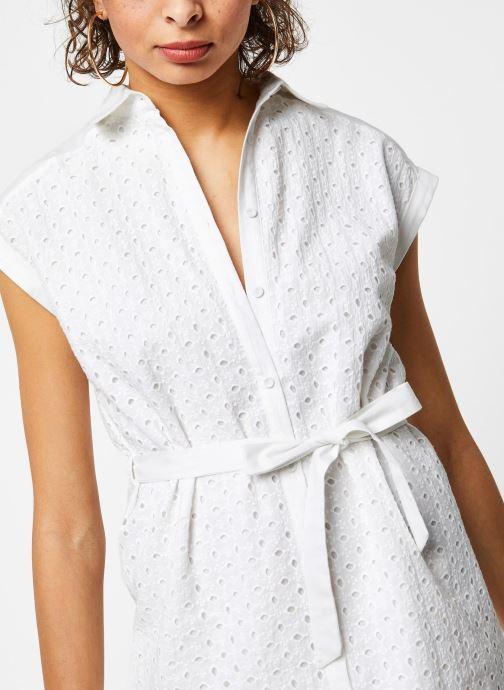 Vêtements Garance ROBE DACO Blanc vue face