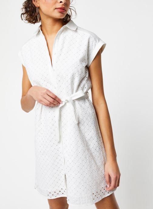 Vêtements Garance ROBE DACO Blanc vue droite