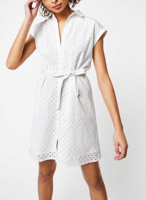 Vêtements Garance ROBE DACO Blanc vue détail/paire