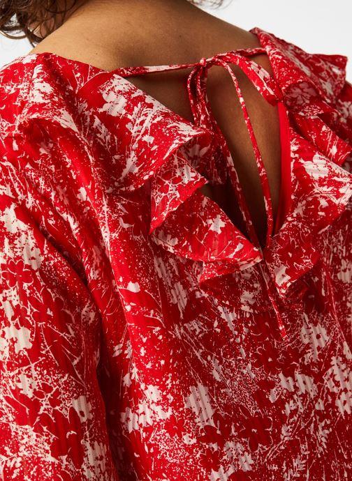 Vêtements Garance TOP DRILLON Rouge vue face