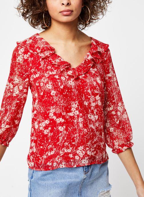 Vêtements Garance TOP DRILLON Rouge vue droite