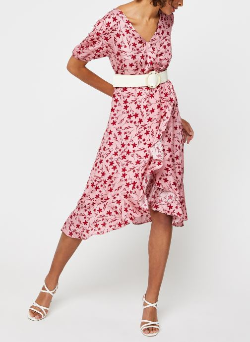 Vêtements Garance ROBE DAVINA Rose vue bas / vue portée sac