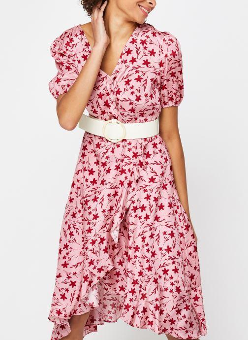 Vêtements Garance ROBE DAVINA Rose vue détail/paire