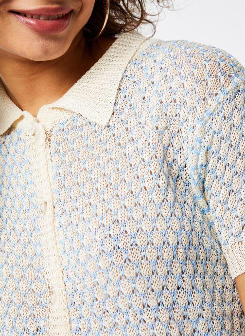 Vêtements Garance CHEMISE DIXI Bleu vue face